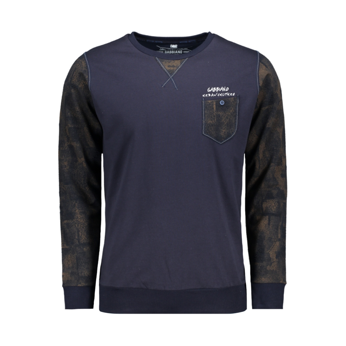 76143 gabbiano sweater navy