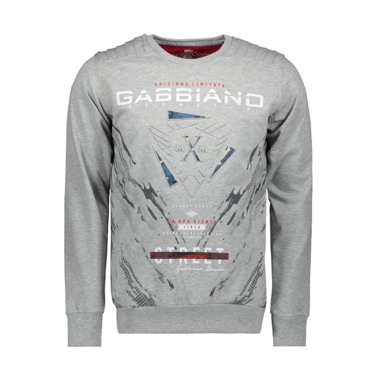 76105 gabbiano sweater grey