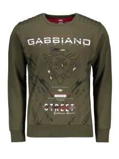 Gabbiano sweater 76105 ARMY