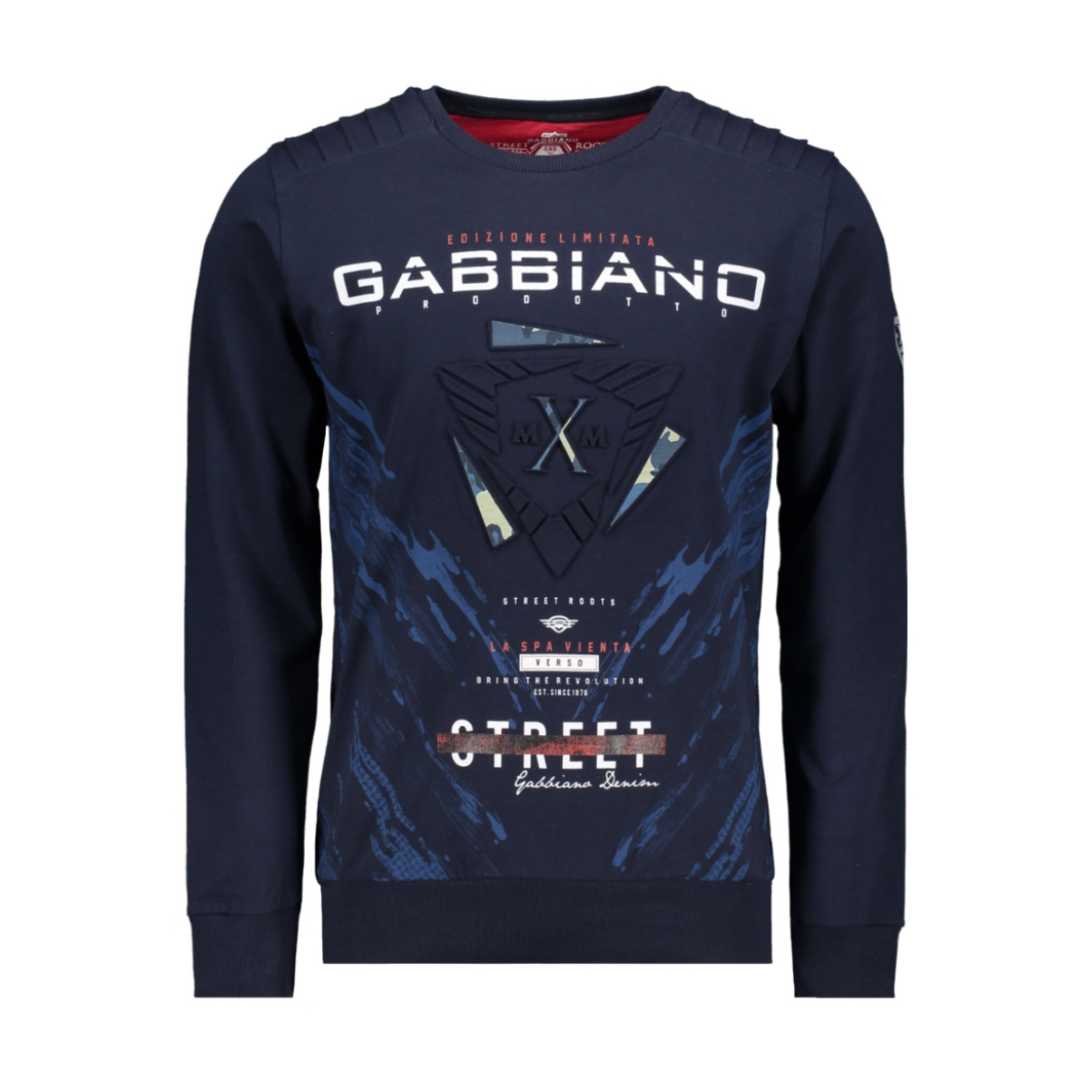 76105 gabbiano sweater navy