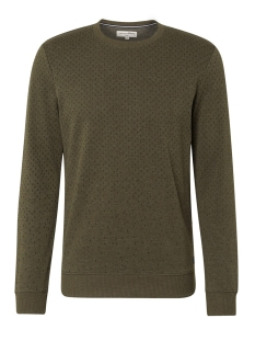 Tom Tailor sweater SWEATER MET ALL OVER PATROON 1014791XX12 10666