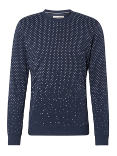 sweater met all over patroon 1014791xx12 tom tailor sweater 13684