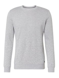sweater met all over patroon 1014791xx12 tom tailor sweater 15398