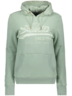 Superdry sweater PREMIUM ENTRY HOOD W2000061A DESERT SAGE