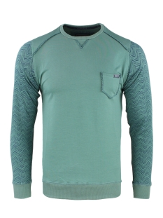 Gabbiano sweater SWEATER 77097 GREEN