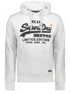 Superdry sweater VINTAGE LOGO FERO HOOD M20365NT ICE MARL