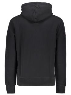 premium goods tonal hood m20355nt superdry sweater black