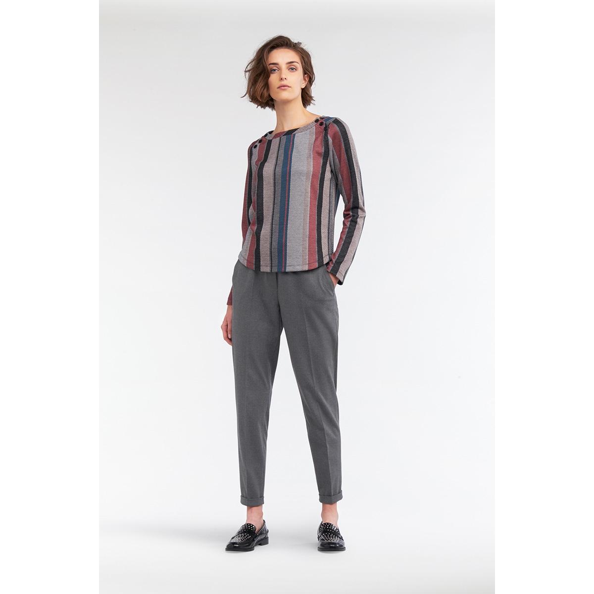 jacquard sweatshirt met strepen 21201572 sandwich t-shirt 20150
