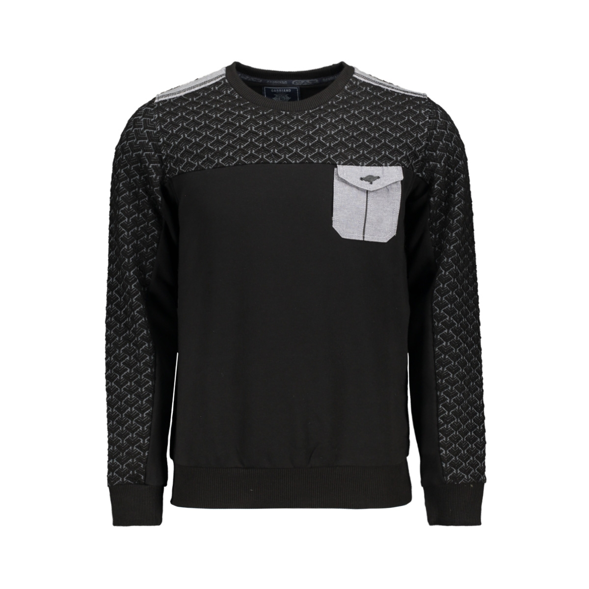 sweater 77086 gabbiano sweater black