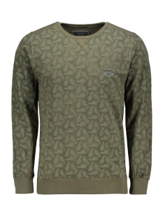 Gabbiano sweater SWEATER 77083 ARMY