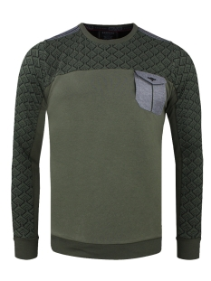 Gabbiano sweater SWEATER 77086 GREEN
