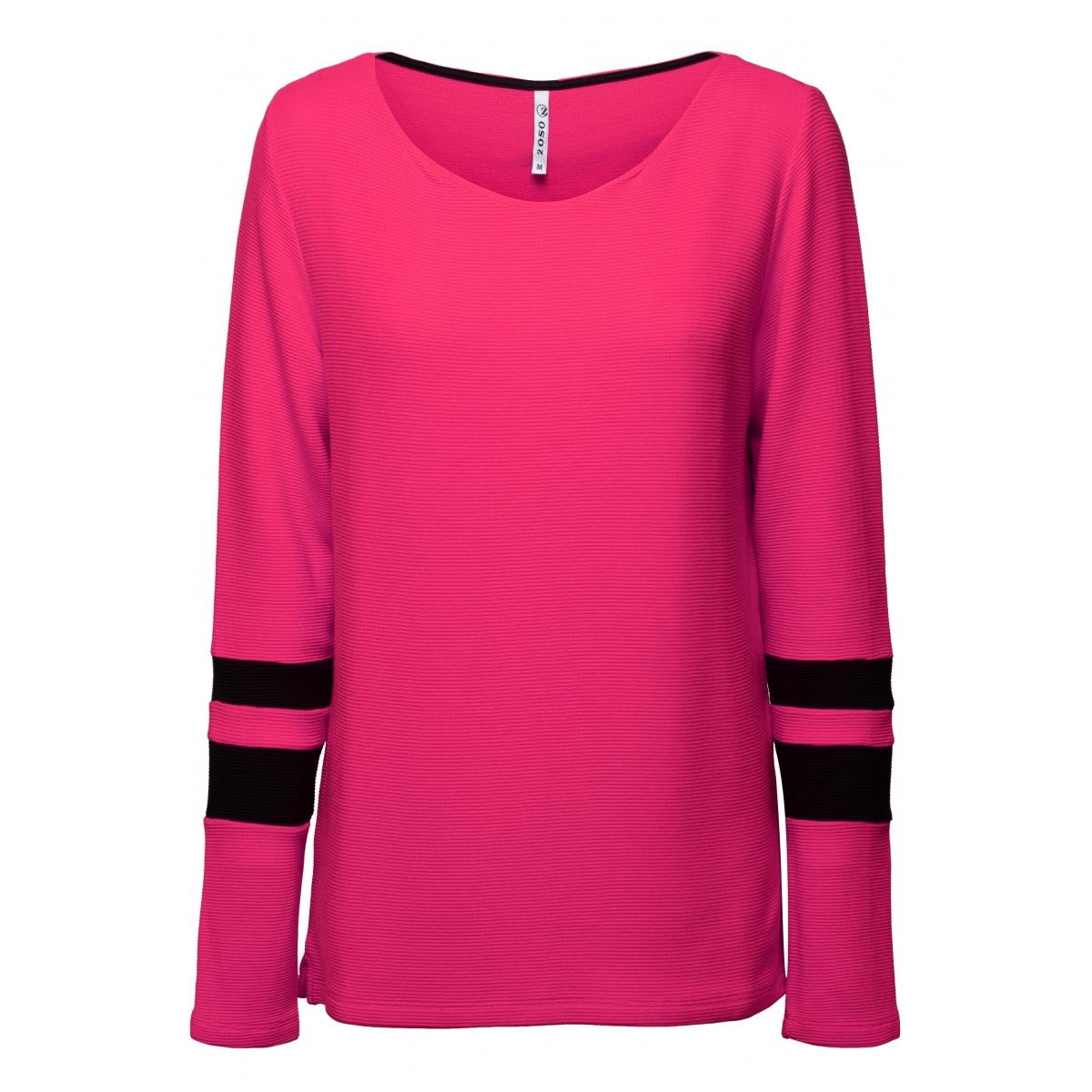dory fantasy fabric sweater 194 zoso trui fushsia/black