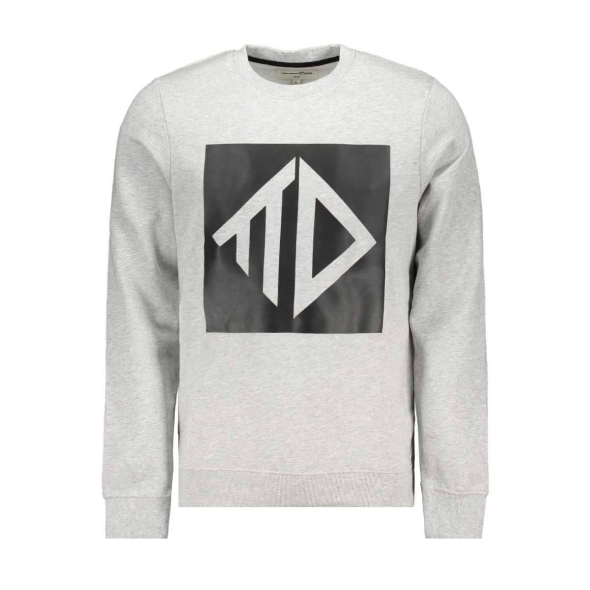 sweatshirt met print 1015685xx12 tom tailor sweater 15398