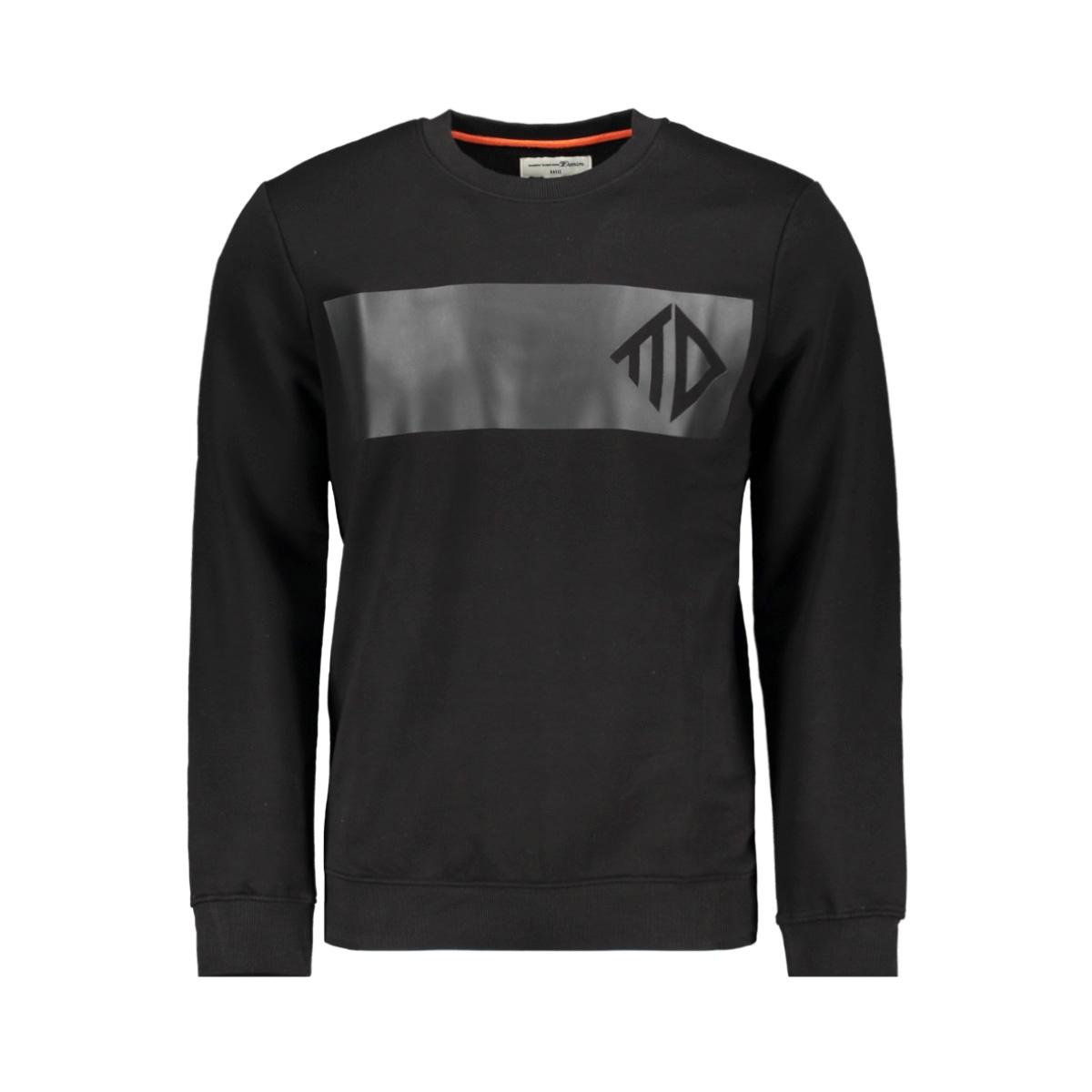 sweatshirt met print 1015685xx12 tom tailor sweater 29999
