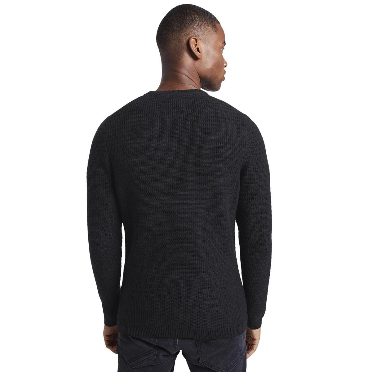 trui met textuur 1015581xx12 tom tailor trui 29999