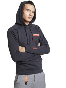 Tom Tailor sweater HOODIE MET ALL OVER PRINT 1015687XX12 20973