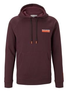 Tom Tailor sweater HOODIE MET ALL OVER PRINT 1015687XX12 21549