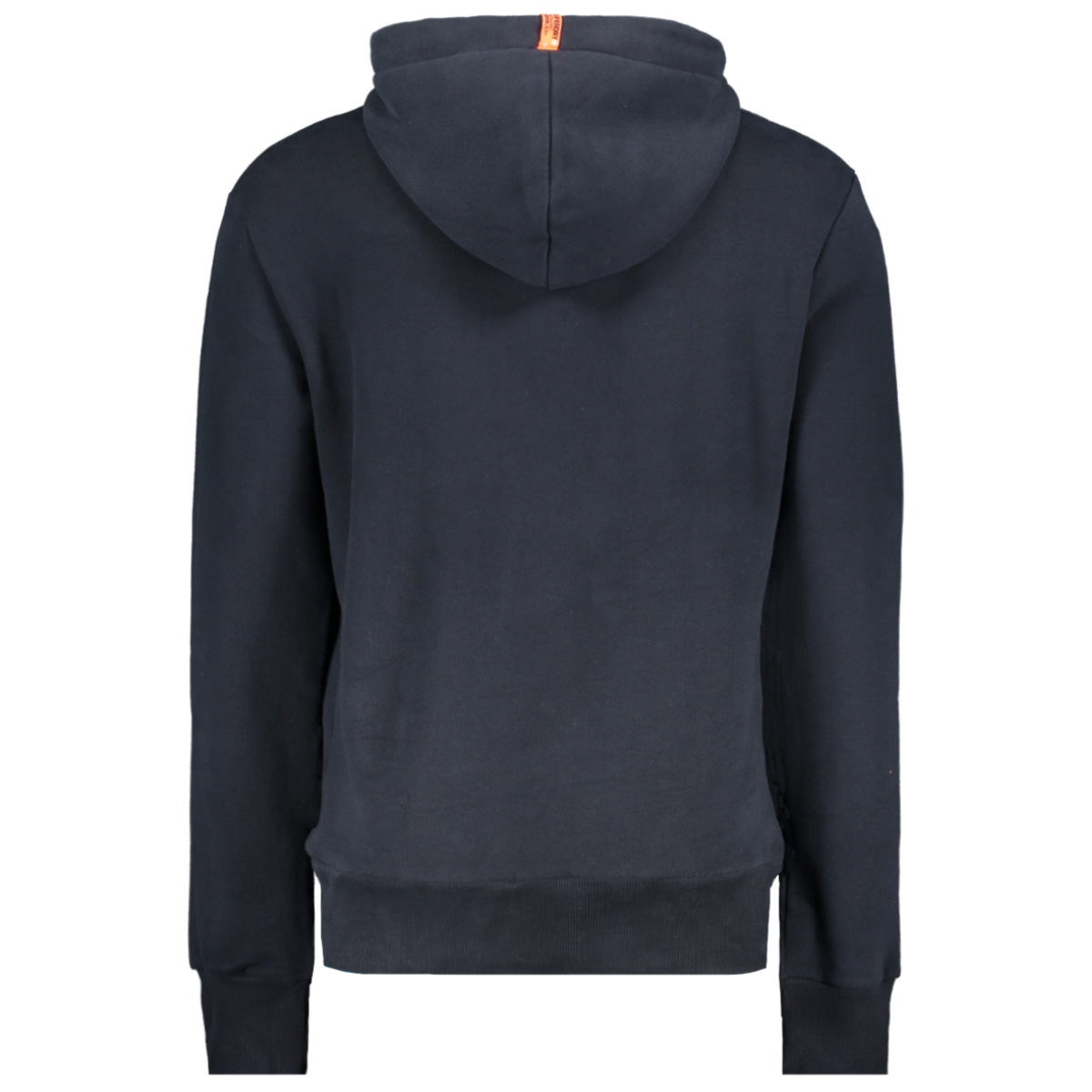 core logo tag hood m2000098a superdry sweater eclipse navy