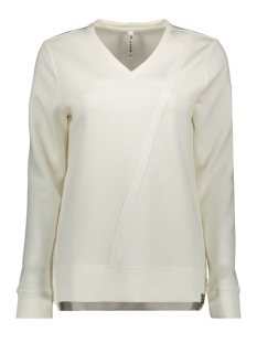 Zoso sweater 195 HAPPY LUXURY FABRIC SWEATER OFF WHITE