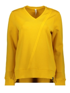 Zoso sweater 195 HAPPY LUXURY FABRIC SWEATER GOLD YELLOW
