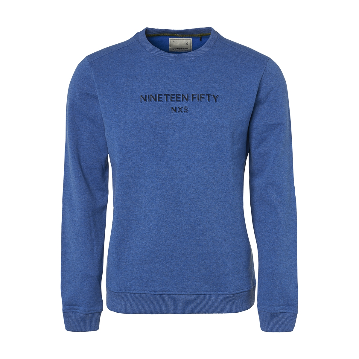 crewneck sweater with logo 94131152 no-excess sweater 135 royal