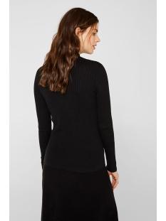 geribte trui met opstaande kraag 129ee1i003 esprit trui e001