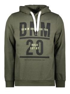 Tom Tailor sweater HOODIE MET PRINT 1014792XX12 10666