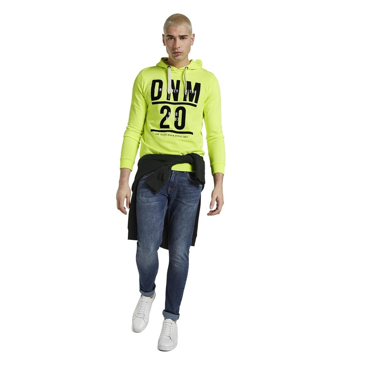 hoodie met print 1014792xx12 tom tailor sweater 20361