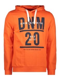 hoodie met print 1014792xx12 tom tailor sweater 15612