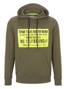 hoodie met print 1016232xx12 tom tailor sweater 21041