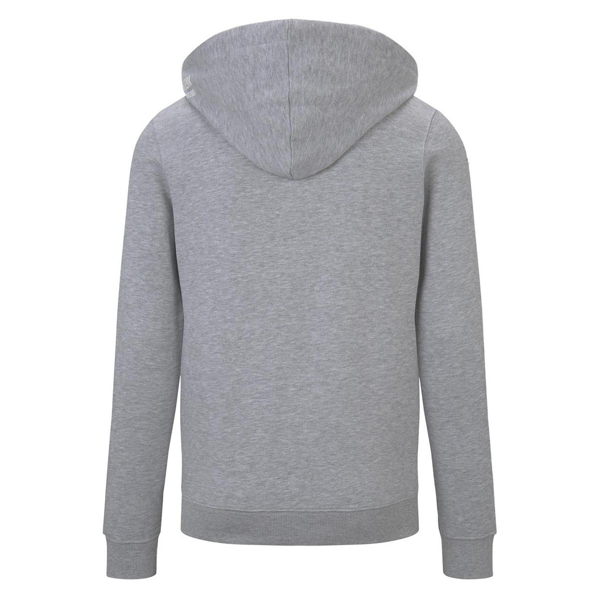 sweatshirt jack met capuchon 1016330xx12 tom tailor vest 15398