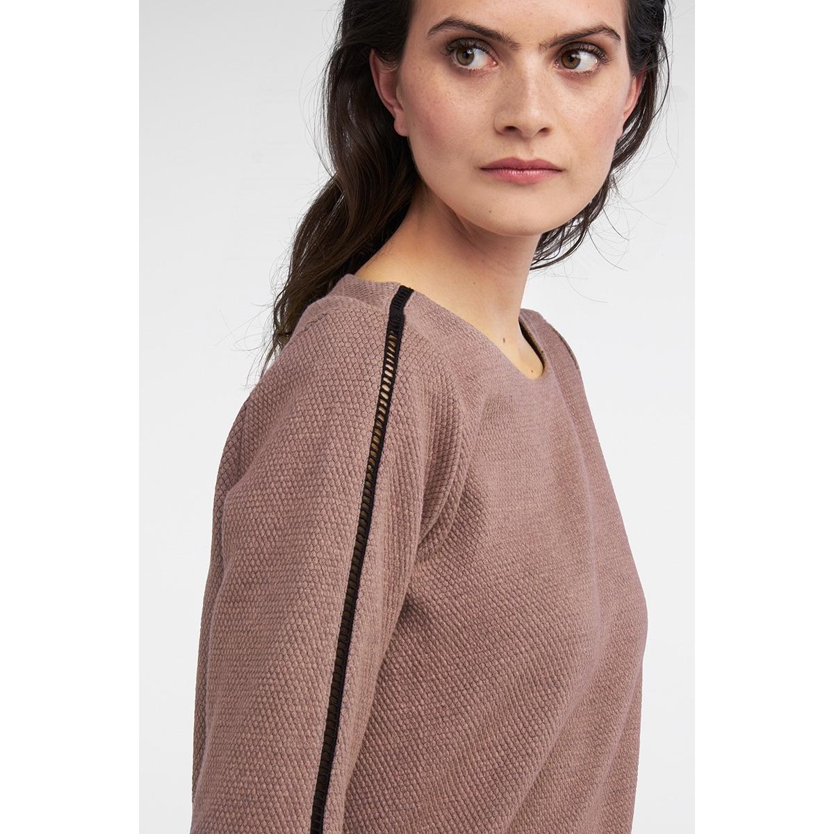 jacquard sweater met ajour detail 21201574 sandwich sweater 20123