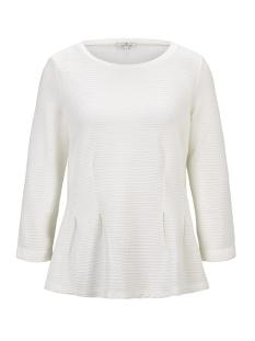 Tom Tailor T-shirt T SHIRT MET BOOTHALSLIJN 1016128XX70 10315