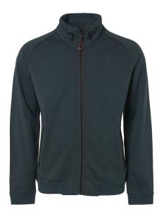 NO-EXCESS Vest FULL ZIP CARDIGAN 92100830 157 Dk Seagreen