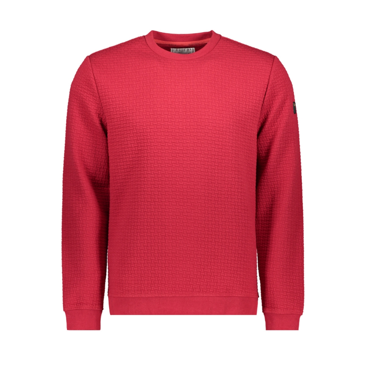 crewneck jacquard sweater 92100815n no-excess sweater 060 red