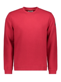 NO-EXCESS sweater CREWNECK JACQUARD SWEATER 92100815N 060 RED