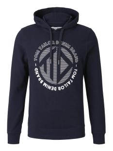 Tom Tailor sweater BEDRUKTE HOODIE 1019542XX12 10668