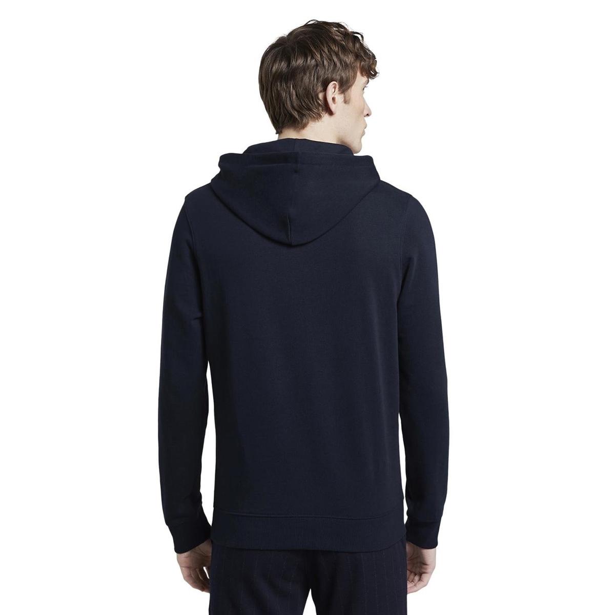 bedrukte hoodie 1019542xx12 tom tailor sweater 10668