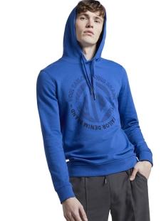 bedrukte hoodie 1019542xx12 tom tailor sweater 21204