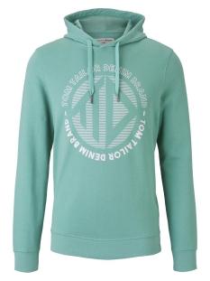 Tom Tailor sweater BEDRUKTE HOODIE 1019542XX12 21206