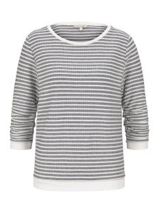 Tom Tailor sweater GESTREEPTE JACQUARD SWEATER 1017277XX71 16514