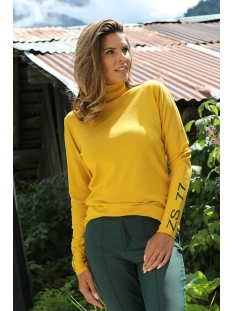 Zoso Trui 195 OSLO ROLLNECK SWEATER GOLDYELLOW/FOREST