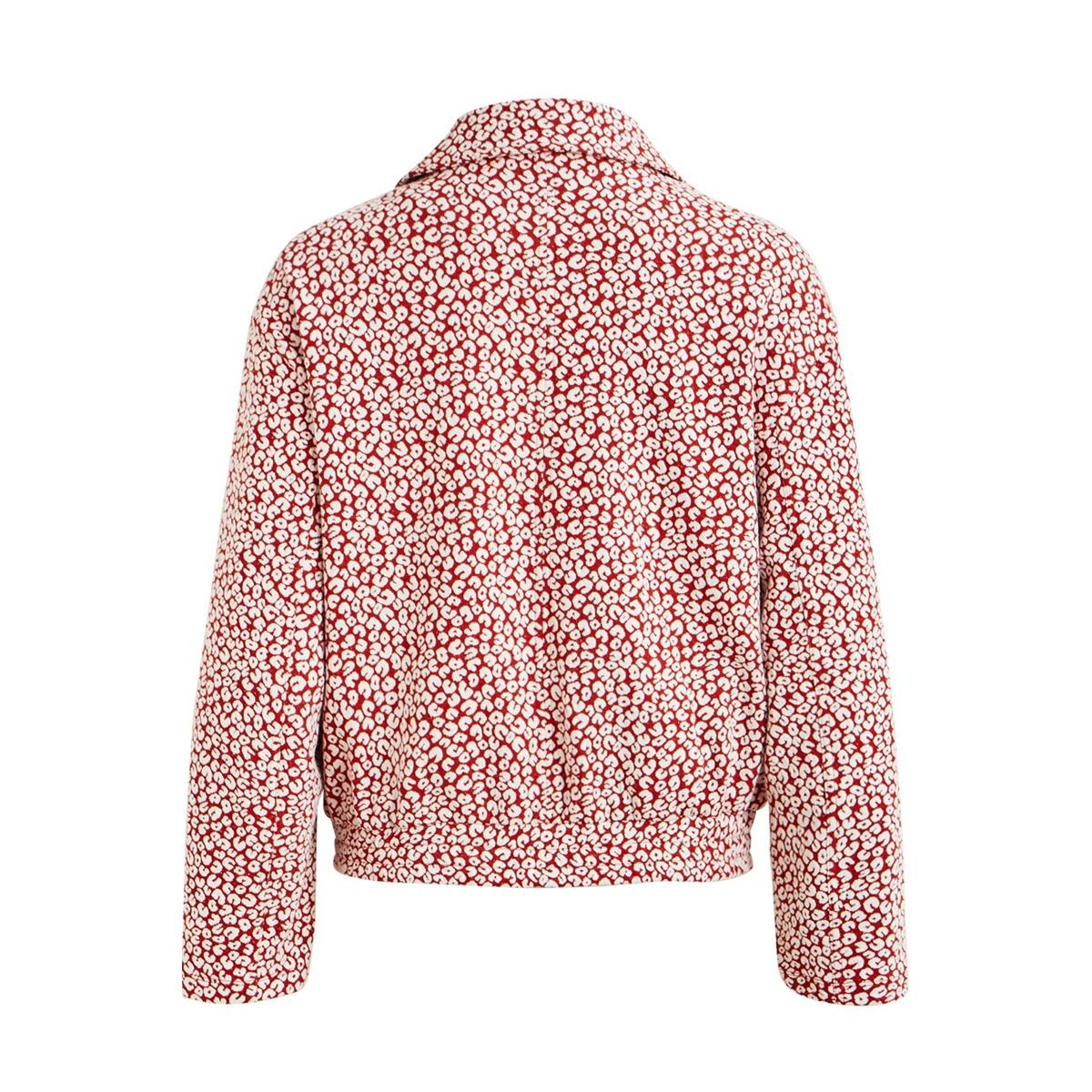 objelena sweat jacket 107 23031903 object jas tandori spice/white