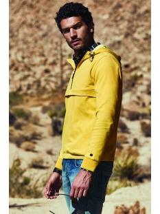 Cast Iron sweater TWO TONE INTERLOCK HOODIE CSW201404 1071