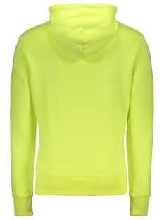sport stripe hood m2010103b superdry sweater neon yellow
