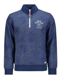 N.Z.A. sweater PARARORE 20AN316 375 BLUE MELANGE