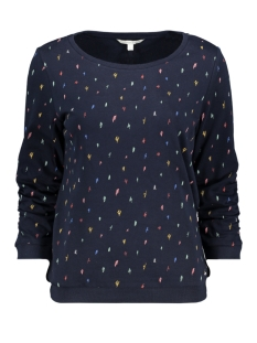 Tom Tailor sweater GEDESSINEERDE TRUI 1017523XX71 22863