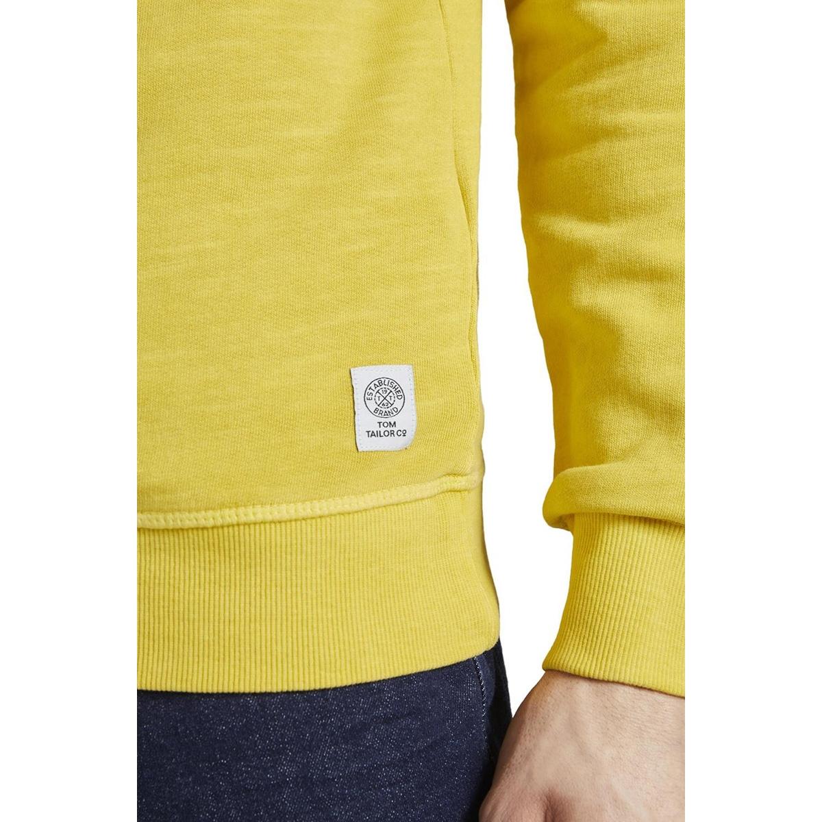 eenvoudige sweatshirt 1016151xx10 tom tailor sweater 11853