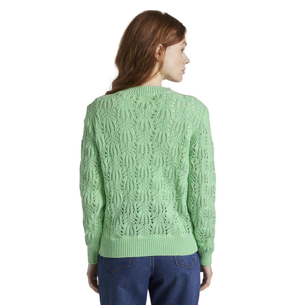 sweater met ajour patroon 1017697xx71 tom tailor trui 21562