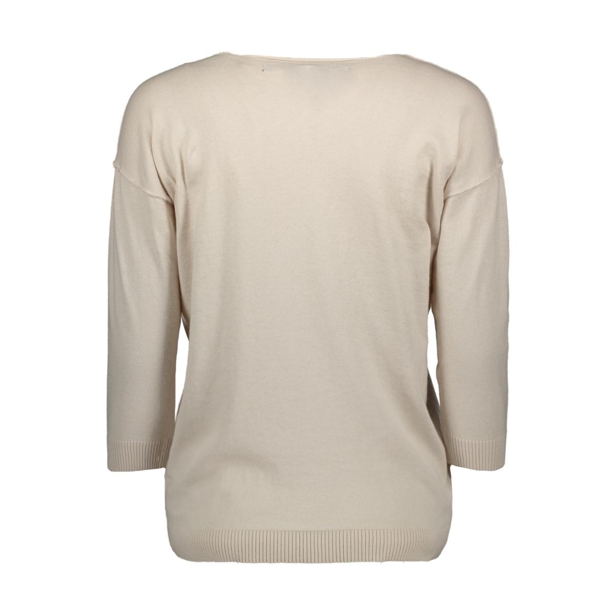 v-neck sweater 20 607 0201 10 days trui 1067 white sand